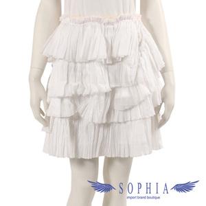 Louis Vuitton frills skirt bottoms white 20190107