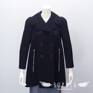 Louis Vuitton Peacoat Size 34 Black Cleaned 20190115