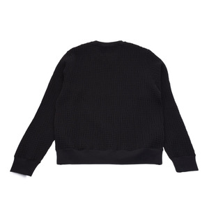 Hermes sweat COL ROND black size L men's brand new HERMES ginza
