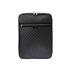 ルイ・ヴィトン(Louis Vuitton) ルイヴィトン グラフィット ペガス55 黒 N23299 メンズ レディース キャリーケース Bランク LOUIS VUITTON 中古 銀蔵