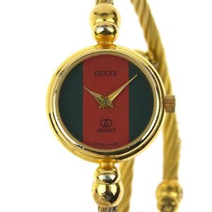 Genuine GUCCI Gucci sherry bangle watch Ladies quartz wristwatch model number: 2047L
