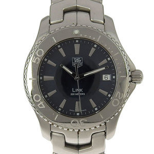 Real TAG HEUER Tag Heuer Link Mens Quartz Wrist Watch Model Number: WJ 1112