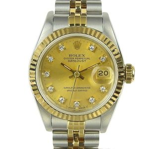 Authentic ROLEX Datejust Ladies Automatic watch Model number: 69173G 98 series
