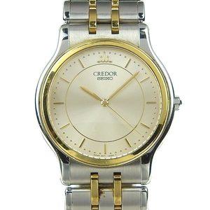 Authentic SEIKO Seiko Credor Mens Quartz Wrist Watch Model Number: 9571-6020