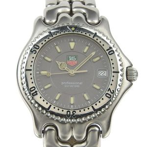 Real TAG HEUER Heuer Professional 200 Mens Quartz Wrist Watch Model Number: WG 1113-0