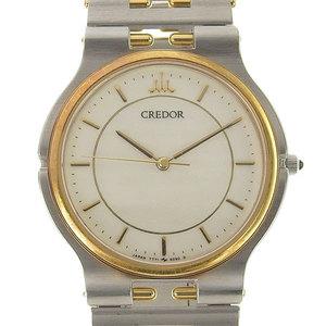 Authentic SEIKO Seiko Credor Boys Quartz Wrist Watch Model Number: 7771-6040