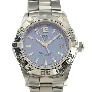Real TAG HEUER Heuer Ladies Aquaracer Shell Quartz Watch Order Number: WAF 1417