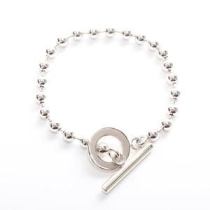 Gucci Ball Chain Silver 925 Charm Bracelet Silver