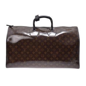 ルイ・ヴィトン(Louis Vuitton) ルイヴィトン モノグラムグレーズ キーポルバンドリエール50 ブラウン M43899 メンズ レディース ボストンバッグ 未使用 美品 LOUIS VUITTON 中古 銀蔵