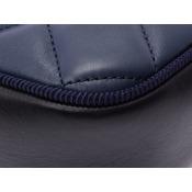 a1d5598126cf シャネル(Chanel) シャネル マトラッセ チェーンショルダーバッグ 青/黒 ...