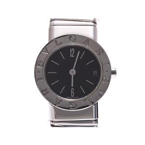 ブルガリ ブルガリブルガリ トゥボガス 黒文字盤 BB232T レディース SS クオーツ 腕時計 Aランク BVLGARI 中古 銀蔵