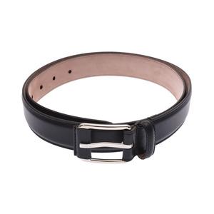 Gucci Belt Size 90 Black Men's Calf New Shimamoto Item GUCCI Used Ginza