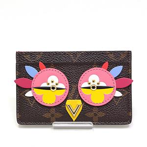 LOUIS VUITTON Louis Vuitton Monogram Porto Cartel Samplle Card Case M61709 2017 Spring Summer Collection Like New