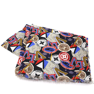 Louis Vuitton LOUIS VUITTON Ethole · All Over LV League M 70623 70% Cotton 30% Silk Multi Color Men's Scarf Cup Unused Items