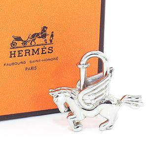 Hermès HERMES Cadena Pegasus Silver Unisex A rank