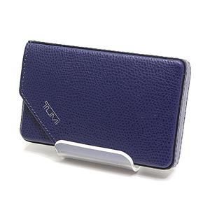 TUMI Tumi Business Card Case 011820D Indigo (Ink Blue) Unused item