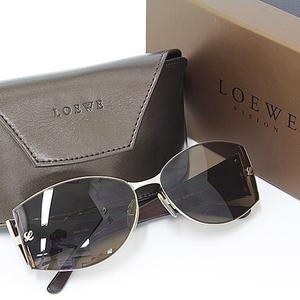 Loewe LOEWE sunglasses SLW 165 Brown × gold A rank