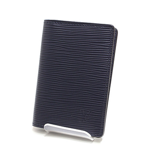 LOUIS VUITTON Louis Vuitton Epi Organizer · Dopotish Card Case M61821 Blue Marine as New