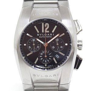 BVLGARI Bvlgari Boys Watch Ergon Chronograph EG 35S Black (Black) Dial Automatic Winding