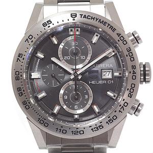 TAG HEUER Tag Heuer Men's Watch Carrera Caliber 01 Chronograph Gray Phantom CAR 208 Z.BF 0719