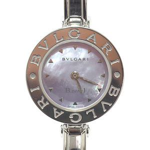 BVLGARI Bvlgari Ladies Watch Be Zero One Bangle BZ22S Blue Shell Dial