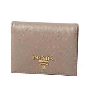 PRADA Prada Bi-fold wallet 1 MV 204 CIPRIA (Cypria) Saffian Leather Unused item