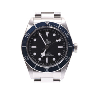 Tudor Heritage Black Bay Blue Bezel 79230B Men's SS Automatic Volume Watch A Rank beautiful item TUDOR Box Galleries Used Ginza