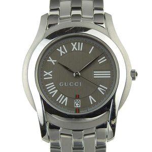 Genuine GUCCI Gucci Men's Quartz Wrist Watch Model Number: 5500M