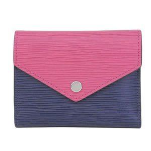 ba7470383ff Genuine article Louis Vuitton Epiphottevill Victory Negro bi-fold wallet  Andiger bull - M62204 purse