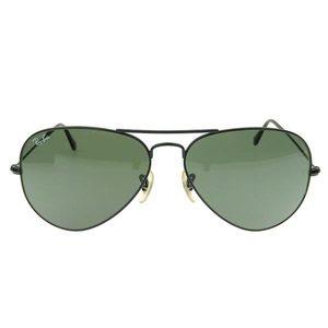 Ray-Ban Real RayBan Ravin Aviator Sunglasses Black 58 □ 14 RB 3025