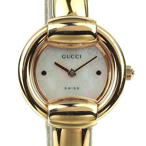 Genuine GUCCI Gucci Ladies Quartz Wrist Watch Shell Dial: Model Number: 1400L