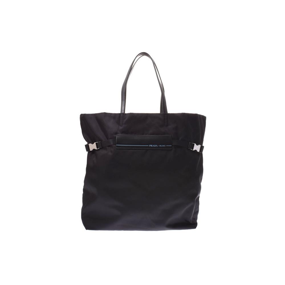 a27121c2206708 Prada Tote Bag Black 1 BG 196 Men's Women's Nylon / Leather Unused Beauty  Products PRADA Used Ginza