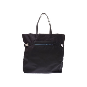 Prada Tote Bag Black 1 BG 196 Men's Women's Nylon / Leather Unused Beauty Products PRADA Used Ginza