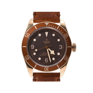 Tudor Heritage Black Bay Bronze Dial 79250 BM Mens SS / Leather Automatic Watch A Rank TUDOR Box Galler Used Ginza