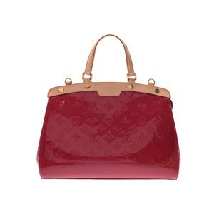 Louis Vuitton Vernier Brea MM Rose Andy An M 91798 Women's 2 Way Handbag A Rank LOUIS VUITTON Used Ginza with Strap