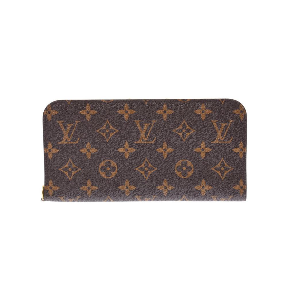 Louis Vuitton Monogram Portofoille Ansorit Yvoire M66563 Men's Women's Genuine Leather Wallet AB Rank LOUIS VUITTON Used Ginza