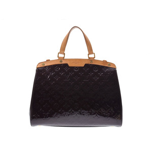Louis Vuitton Vernier Blair GM Alamant M91616 Ladies' real leather handbag B rank LOUIS VUITTON strap attaching second hand silver storage