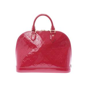 Louis Vuitton Vernis Alma PM Rose Andy An M 91770 Ladies' Handbag AB Rank LOUIS VUITTON Used Ginza