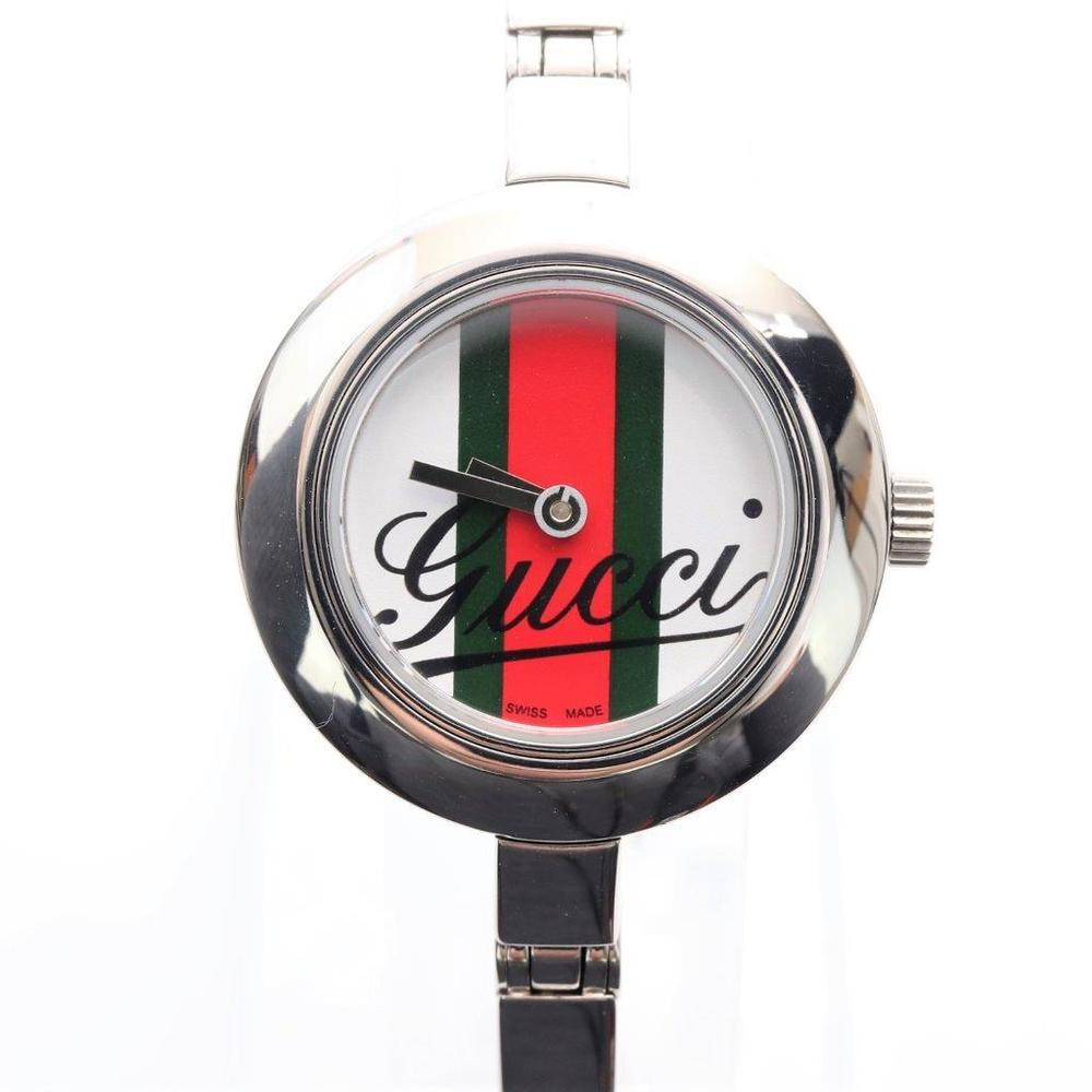Gucci Quartz Stainless Steel Women's Casual Watch 105
