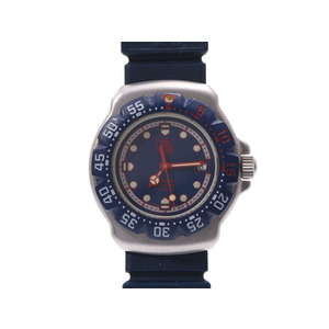 TAG Heuer Formula 1 Blue Dial 370.508 Women's SS / Rubber Quartz Wrist Watch AB Rank Used Ginza