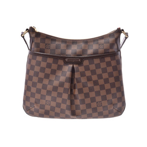 Louis Vuitton Damier Bloomsbury PM Brown N42251 Women's Genuine Leather Shoulder Bag A Rank LOUIS VUITTON Used Ginza