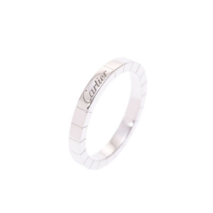 Cartier Lanieres ring WG # 59 Men's ladies 6.8 g Ring A rank 美 品 CARTIER Used silver store