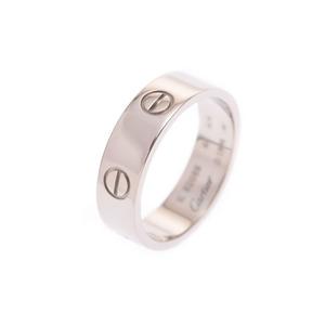 カルティエ(Cartier) カルティエ ラブリング WG #60 メンズ レディース 9.3g 指輪 Aランク 美品 CARTIER ギャラ 中古 銀蔵