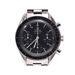 オメガ スピードマスター 黒文字盤 3510.50 メンズ SS 自動巻 腕時計 Aランク OMEGA 空ギャラ 中古 銀蔵