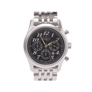 ブライトリング ナビタイマー 黒文字盤 A42035 メンズ SS 自動巻 腕時計 Aランク 美品 BREITLING ギャラ 中古 銀蔵