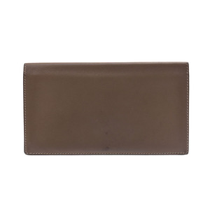 Hermes Citizen Twill Etudes □ P Engraved Mens Women's Swift Long Wallet B Rank HERMES Used Ginza
