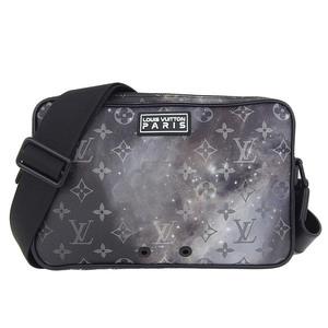 Genuine Louis Vuitton Monogram Galaxy Alpha Messenger Shoulder Bag Leather