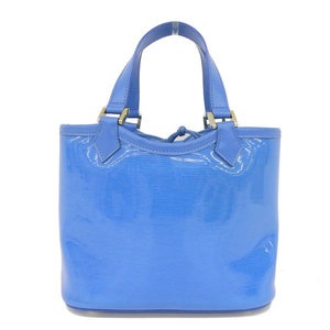Real LOUIS VUITTON Louis Vuitton Lagoon Bay Handbag Blue Model Number: M92472 Bag Leather