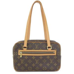 Real LOUIS VUITTON Louis Vuitton Monogram Shite MM Shoulder Bag Model: M51182 Leather