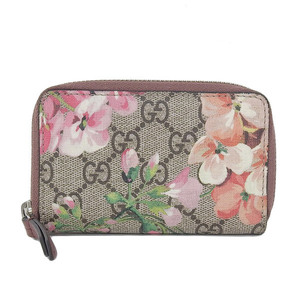 Genuine GUCCI Gucci GG Blooms Coin Case Card Beige Part No: 403022